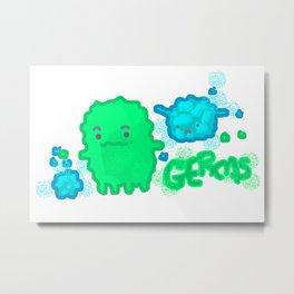 Germs! Metal Print