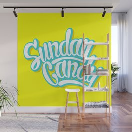 Sunday Candy Wall Mural