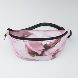 Full Bloom Pink Flowers Fanny Pack