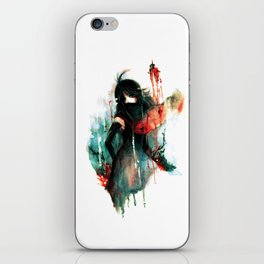 Color Bleeds Out iPhone Skin