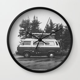 VAN LIFE Wall Clock