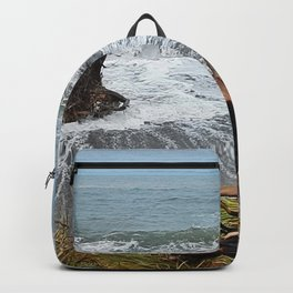 Sea and driftwood mix it up Backpack