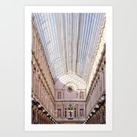 brussels Art Prints featuring brussels by Beau Colin