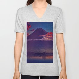 A Sunset for Hara Unisex V-Neck