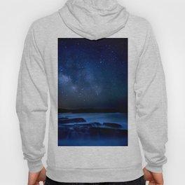Dark Night California Coastal Waters Hoody
