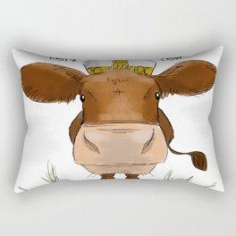 Holy cow Rectangular Pillow
