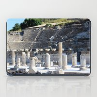 theater iPad Cases featuring Theater  by Allisa Thome
