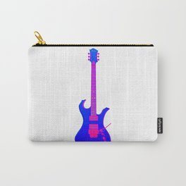 Colorful Electric Guitar Carry-All Pouch