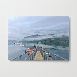 Loch Carron After a Rain Storm Metal Print