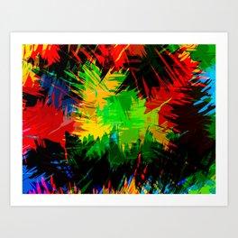 Frenzy Art Print