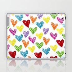 Hearts Parade Laptop & iPad Skin