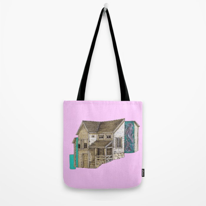 house2 Tote Bag