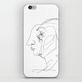 He looked older from the side iPhone Skin
