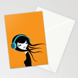 Flow In The Music Stationery Cards