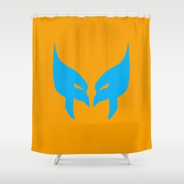 Wolverine Mask Shower Curtain