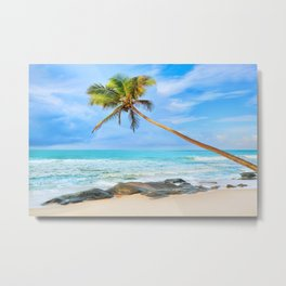 Perfect Island Paradise Metal Print
