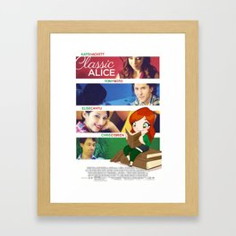 Classic Alice Movie Poster Framed Art Print