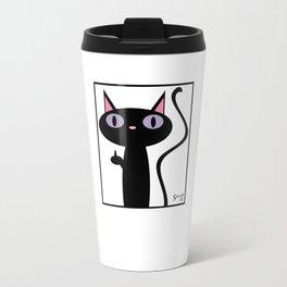 Birdie Cat Travel Mug