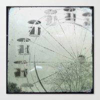ferris wheel Canvas Prints featuring Ferris Wheel by SilverSatellite