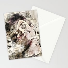 Stars and Medias Audrey Hepburn Stationery Cards