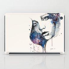 Window, watercolor & ink painting iPad Case