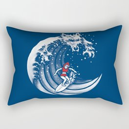Little Red Surfing Hood Rectangular Pillow