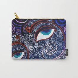 The Dream of Sahasrara (eyes only) Carry-All Pouch