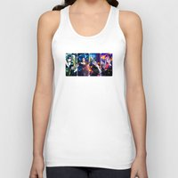 fallout Tank Tops featuring Demons of the Fallout by Danielle Tanimura