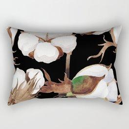 Cotton Flower Pattern 03 Rectangular Pillow