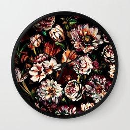 Dark Garden II Wall Clock