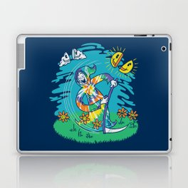 The Not-So-Grim Reaper Laptop & iPad Skin