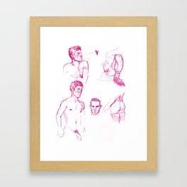FAG DOODLE 01 Framed Art Print