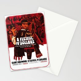 A Fistful of Dollars Stationery Cards