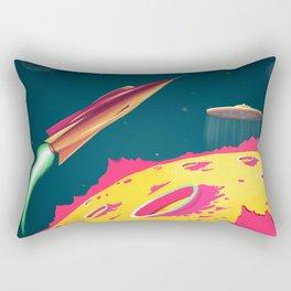 FLYING SAUCERS ATTACK Rectangular Pillow