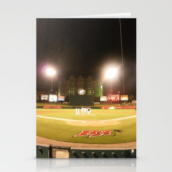 Take me out to the ball game Stationery Cards