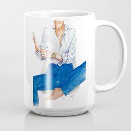Striped Shirt Coffee Mug