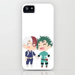 Chibi Tododeku iPhone Case