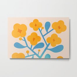 Abstraction_Floral_Blossom_02 Metal Print