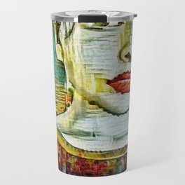 Serendipity Beyond Smashed Mirrors Travel Mug