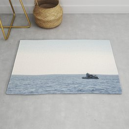 Fishing Boat Rug