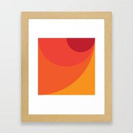 Geometric No. 31 corona Framed Art Print