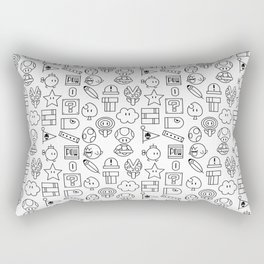 Super Mario PAttern Rectangular Pillow