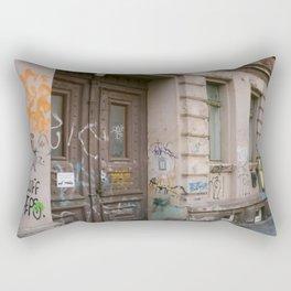 No Entry Rectangular Pillow