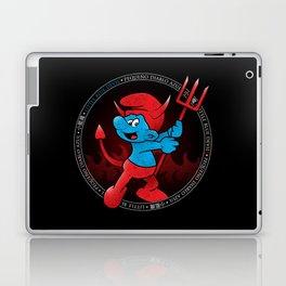 The Little Blue Devil Laptop & iPad Skin