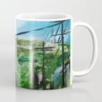 hollywood Mugs featuring Hollywood by James Peart
