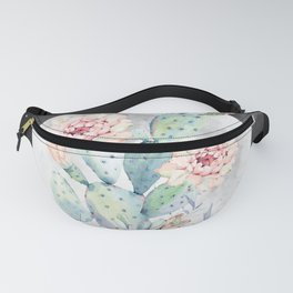 Cactus Nights Prettiest Cactus Full Moon Sky by Nature Magick Fanny Pack