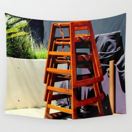 Take Me Higher Chairs Wall Tapestry
