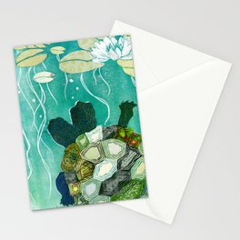Two-Headed Turtle II Stationery Cards