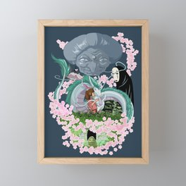 Sen's world Framed Mini Art Print
