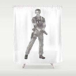 Leon S. Kennedy Shower Curtain